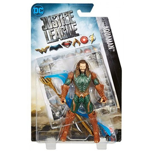 Justice League 6 Inch Aquaman Figure - 4 Years & Above