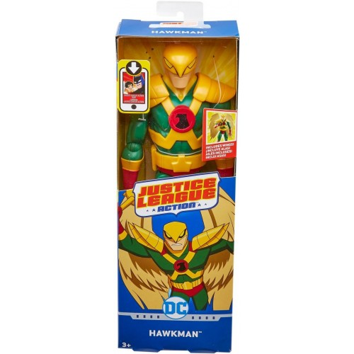 Justice League Action 12 FIG Hawkman FPC64