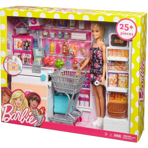 Barbie Supermarket Playset (FRP01)