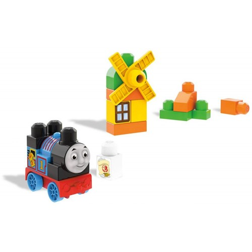 Mega Bloks DXH53 Thomas At The Mill Train Bag Building Set