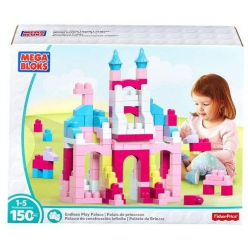 Mega Bloks First Builders Endless Play Palace Set