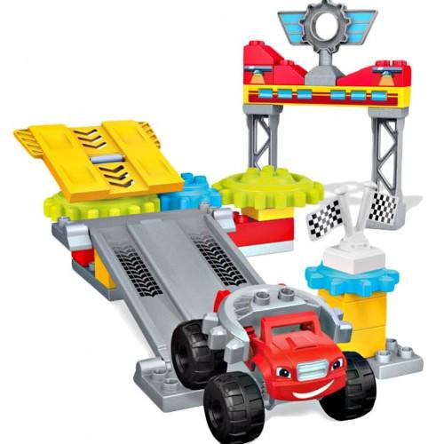 Mega Bloks Blaze Axle City Garage DPH77-XQ2D Building Set