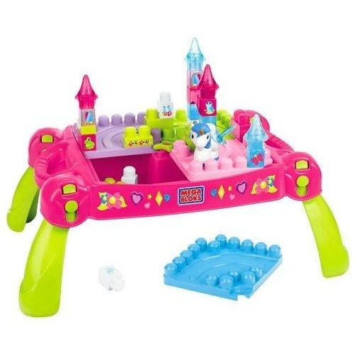 Mega Bloks CXP12 Lil' Princess Play 'N Go Fairy Table Building Set