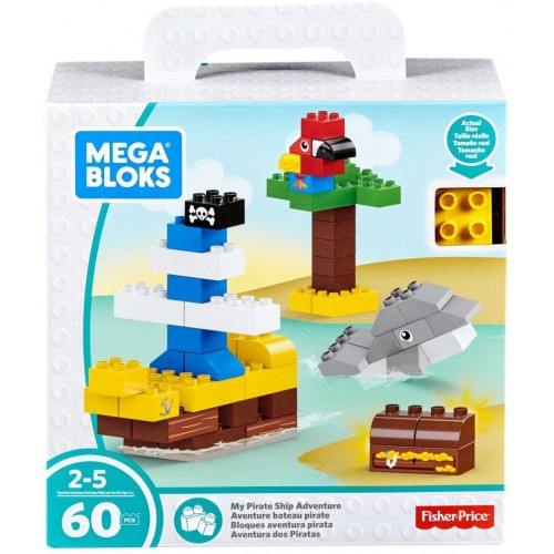Mega Bloks My Pirate Ship Adventure Building Set