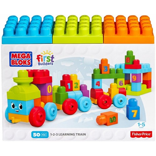 Mega Bloks Learing Train - MBDKX60