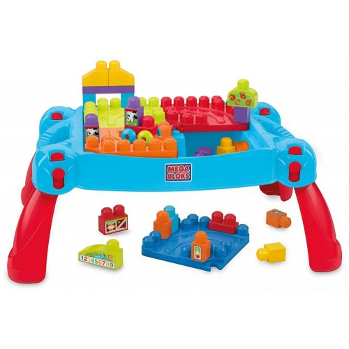 Mega Bloks CNM42 Build 'n Learn Table Building Set