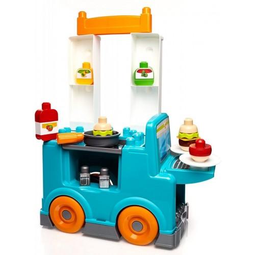 Mega Bloks DPJ55 - XQ2B First Builders Food Truck Kitchen Building Set
