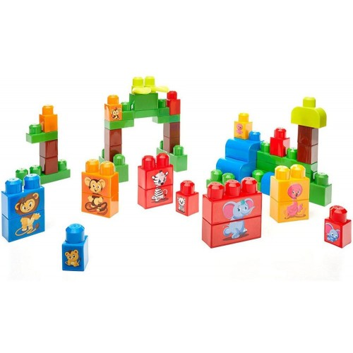 Mega Bloks First Builders Match N Stack Animals Building Set