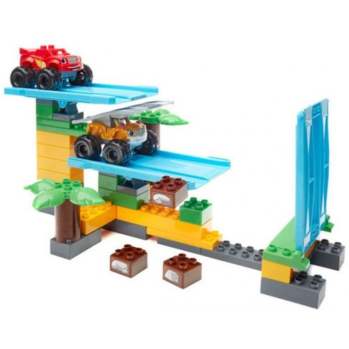 Mega Bloks Blaze And the Monster Machines Jungle Ramp Rush