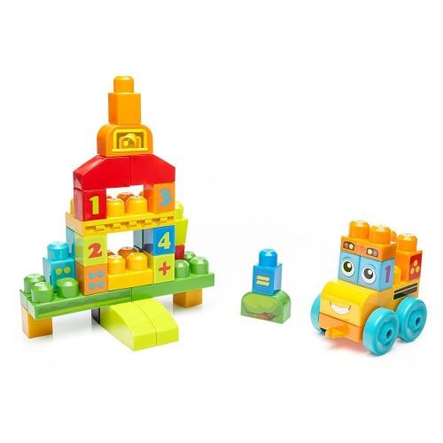 Mega Bloks FBM80 Children's 123 Counting Bus Building Set