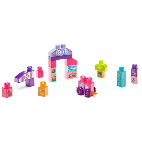 Mega Bloks FFG22 Build 'N Learn Table Building Set