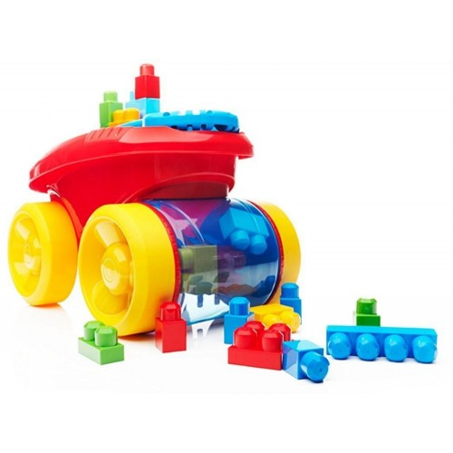 Mega Bloks CNG23 Block Scooping Wagon Building Set