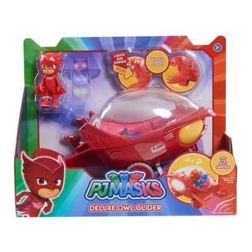 Disney Jr PJ Masks OWLETTE deluxe Vehicle Red Owl Glider
