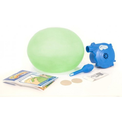 Super Wubble Bubble Ball with Pump Green GloWubble Bubble Like a Ball