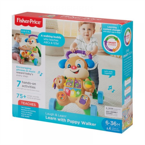 Fisher Price FRC79 Smart Stages Learn Toy with Puppy Walker