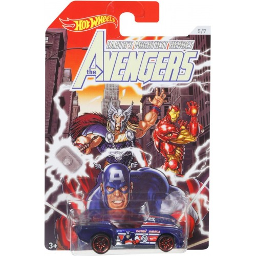 Hot Wheels the Avengers - Fkd48_Fkd53