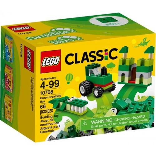 LEGO CLASSIC GREEN CREATIVITY BOX 78pcs 10708