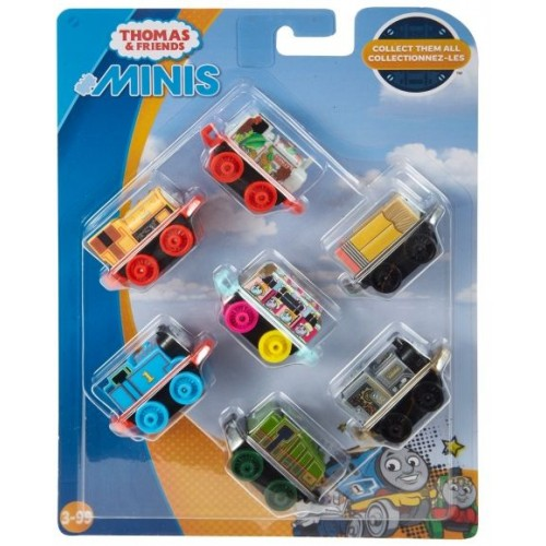 Thomas And Friends 2018 Minis 7 Pk - Pack 1 - Dtv15_Fnc09
