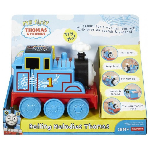 Fisher Price DRH82 Train Thomas with Melodies - 3 Years & Above