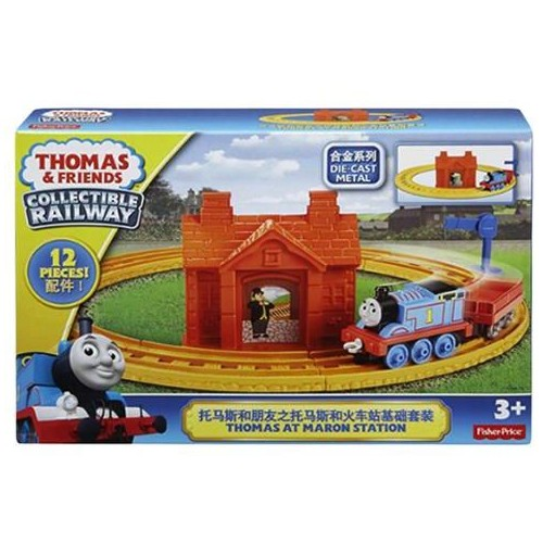 Fisher Price Thomas & Friends Collectible Railway Starter Set BLN89 Vehicle Toy