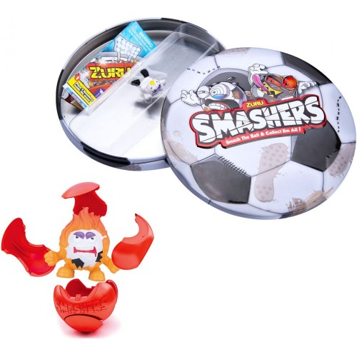 Smashers Collector Tin Football Toy - 5 Years & Above