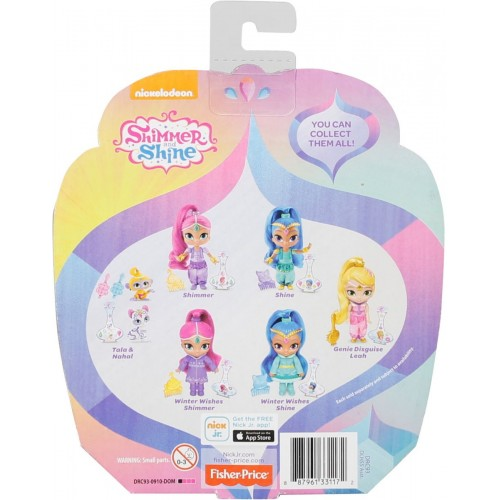 Newborn Toys Shimmer and Shine Doll - DLH55_DRC94
