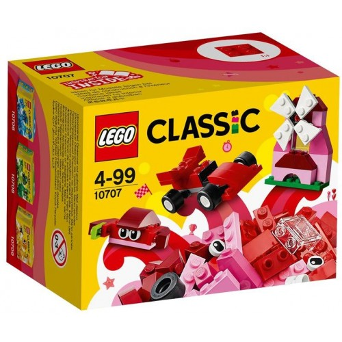Lego Classic Red Creativity Box Building Toy - 10707