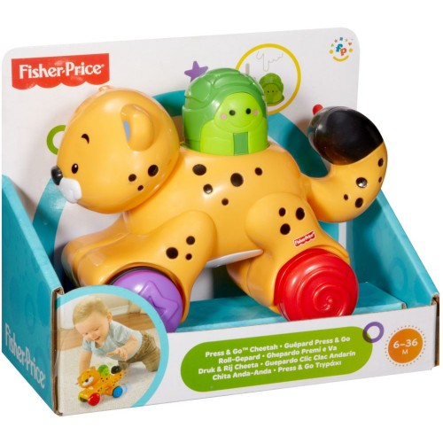 Fisher-Price Toy Press and Go Tiger- N8160_N8162