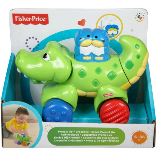 Fisher-Price Toy Press and Go Gator - N8160_N8161