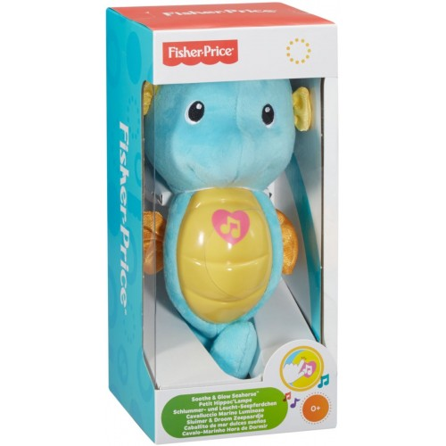 Fisher-Price Toy Soothe N Glow Seahorse Wb - DGH84_DGH82