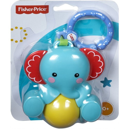 Fisher-Price Elephant Rattle Roller, Fb - DRC00_CBK74