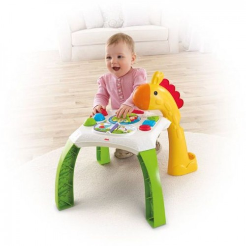 Fisher Price CCP66 Animal Friends Learning Table Toy