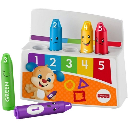 Fisher Price Laugh and Learn Colorful Mood Crayons FBR90 Educational Toy