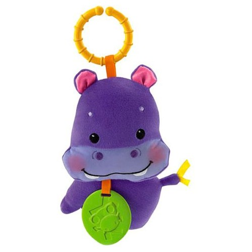 Fisher-Price Soft & Soothing Rattle Hippo [R9676]
