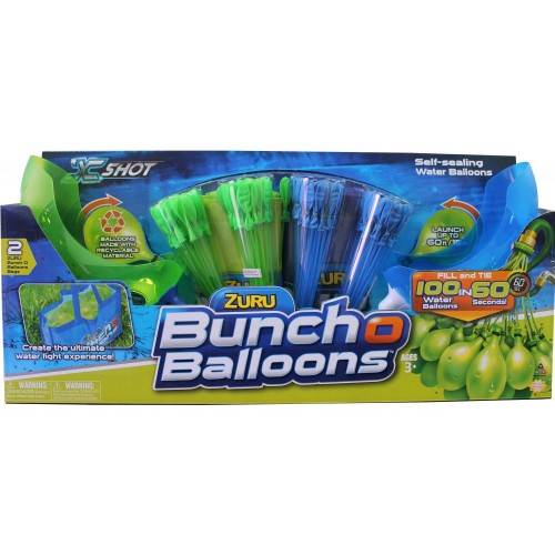 Zuru 01222  Bunch O Balloons 4 Bunches , Multi Color