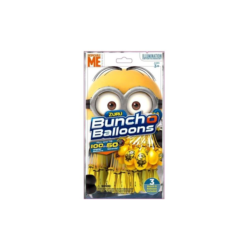Bestway Bunch O Balloons Minion 3PK 5653 Activity and Amusement Toy