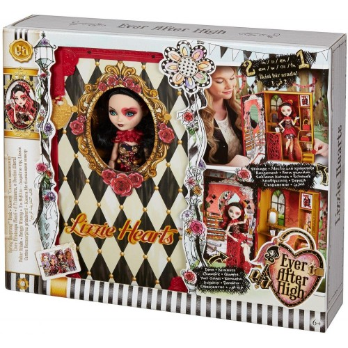 Ever After High Lizzie Hearts Spring Unsprung Book CDM54