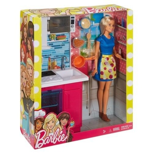 Barbie Doll and Furniture Toys for Girls, DVX51_DVX54