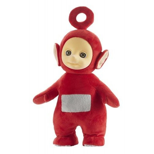 Teletubbies 6306 11 Inch Jumping Po Plush Toy
