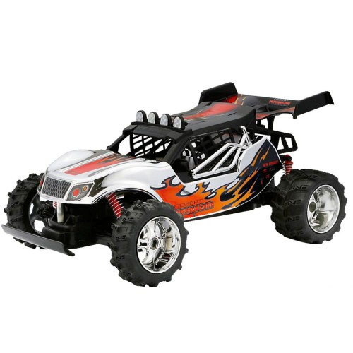 New Bright 1:14 Scale Chrome Lightning Buggy 1440C-NB Vehicle