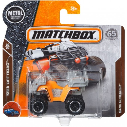 Matchbox Sand Shredder Car for Boys - C0859_FHK43