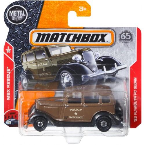 Matchbox 33 Plymouth PC Sedan Car for Boys - C0859_FHJ60