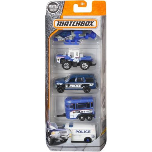 Matchbox Five Car Set for Boys - C1817_DWR80
