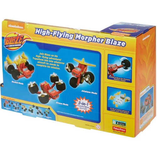 Fisher Price Blz Highflying Morphr Blz ,Cars For Boys ,3 Years And Above