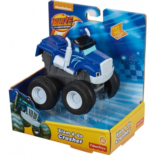 Fisher Price Crusher Slam And Go ,Cars For Boys ,3 Years And Above