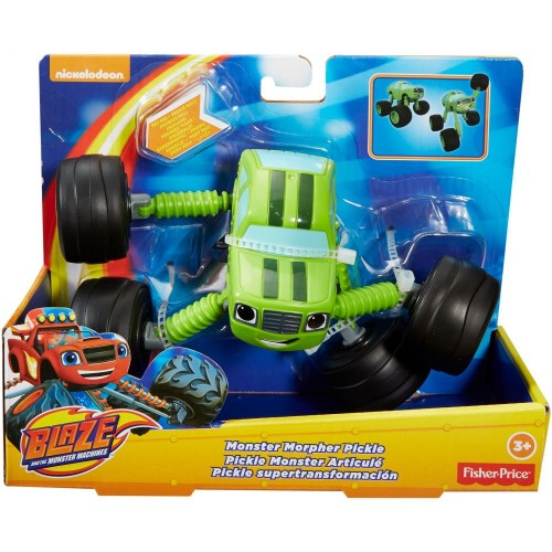 Fisher Price Blz Monstr Morphr Pickle ,Cars For Boys ,3 Years And Above