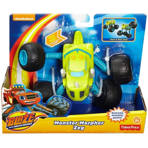 Fisher Price Blz Monster Morpher Zeg ,Cars For Boys ,3 Years And Above