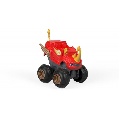 Fisher Price Blz Slam-Go Rhino Blaze ,Cars For Boys ,3 Years And Above