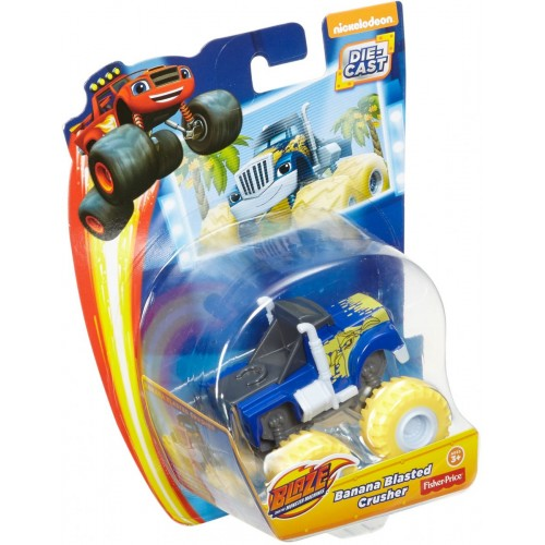 Fisher Price Blz Bananablasted Crusher ,Cars For Boys ,3 Years And Above