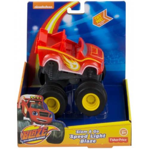 Fisher Price Blz Slam & Go Sp Lght Blz ,Cars For Boys ,3 Years And Above